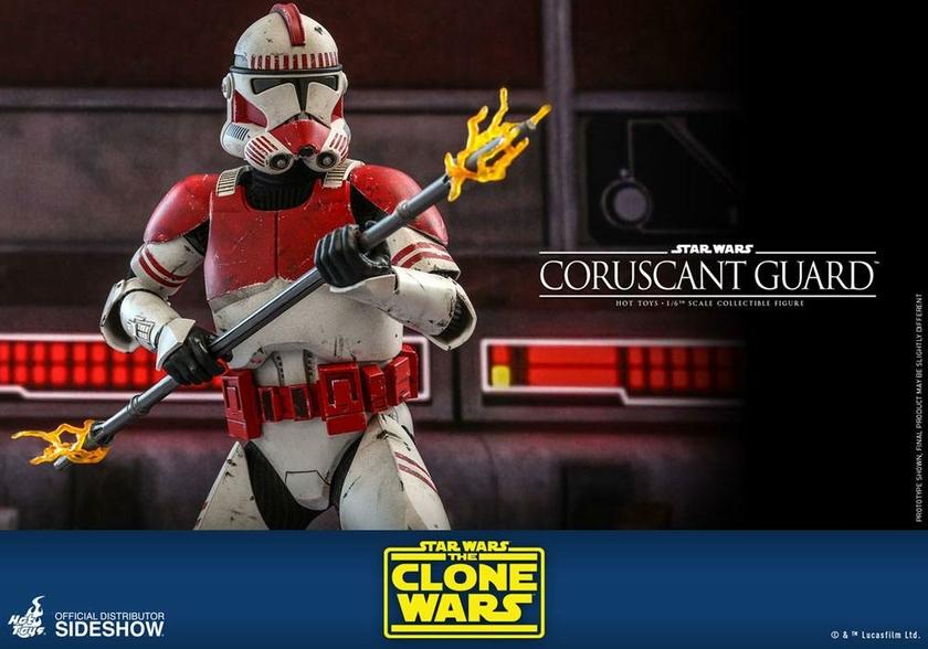 Figurine Star Wars The Clone Wars Coruscant Guard 30cm 1001 Figurines (13)