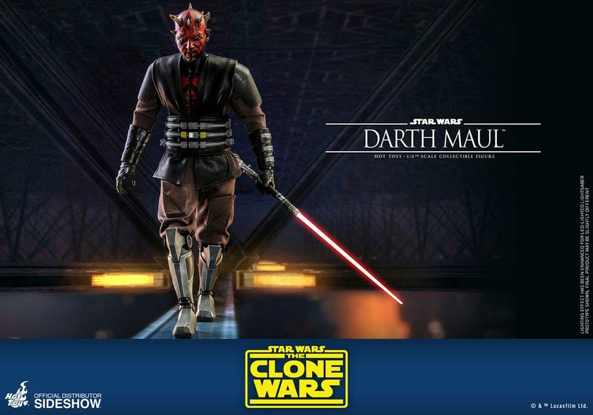 Figurine Star Wars The Clone Wars Darth Maul 29cm 1001 Figurines (12)