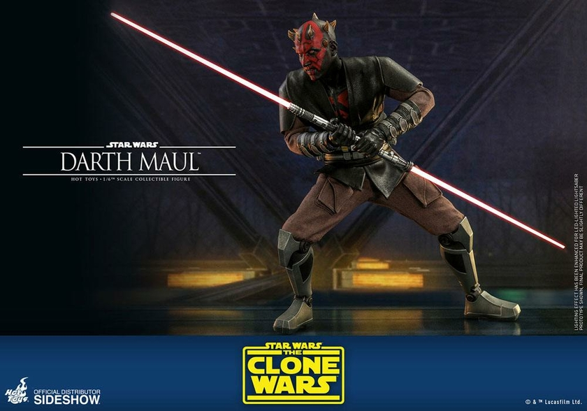Figurine Star Wars The Clone Wars Darth Maul 29cm 1001 Figurines (13)