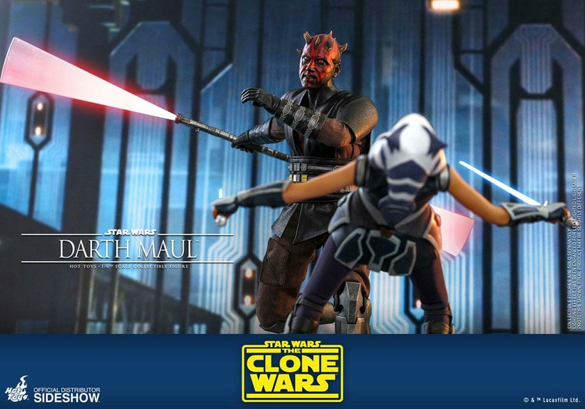Figurine Star Wars The Clone Wars Darth Maul 29cm 1001 Figurines (15)