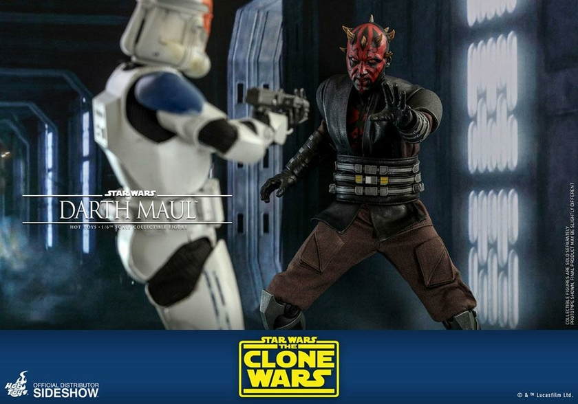 Figurine Star Wars The Clone Wars Darth Maul 29cm 1001 Figurines (18)