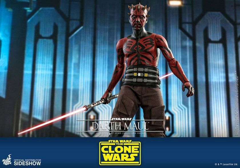 Figurine Star Wars The Clone Wars Darth Maul 29cm 1001 Figurines (19)
