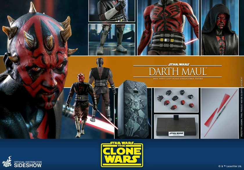 Figurine Star Wars The Clone Wars Darth Maul 29cm 1001 Figurines (22)
