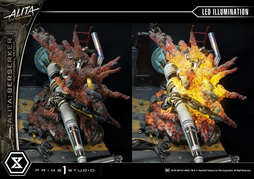 Statuette Alita Battle Angel Alita Berserker Motorball Tryout Bonus Version 64cm 1001 Figurines (26)