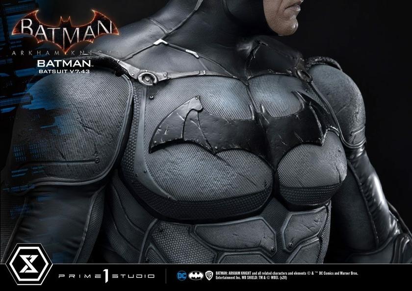 Statuette Batman Arkham Knight Batman Batsuit (v7.43) 86cm 1001 Figurines (14)