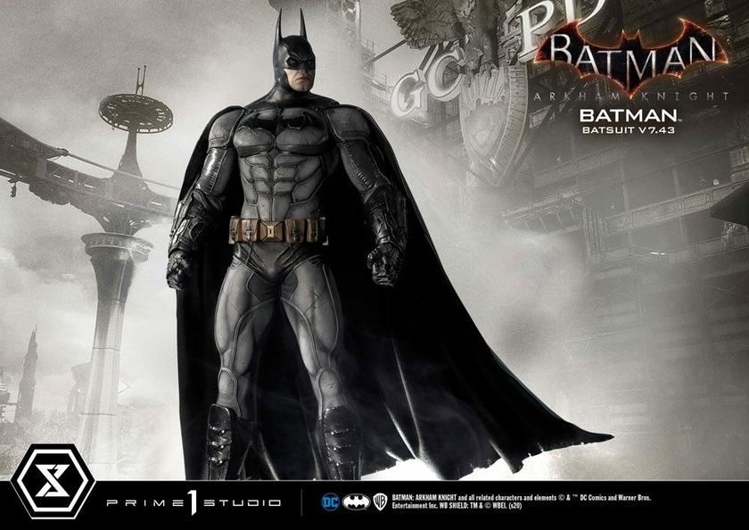 Statuette Batman Arkham Knight Batman Batsuit (v7.43) 86cm 1001 Figurines (23)