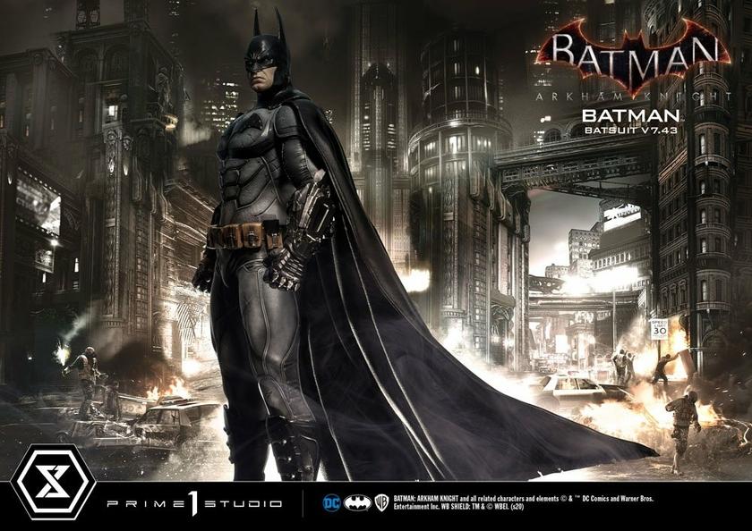 Statuette Batman Arkham Knight Batman Batsuit (v7.43) 86cm 1001 Figurines (22)