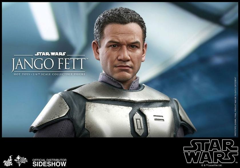 Figurine Star Wars Episode II Movie Masterpiece Jango Fett 30cm 1001 Figurines (15)