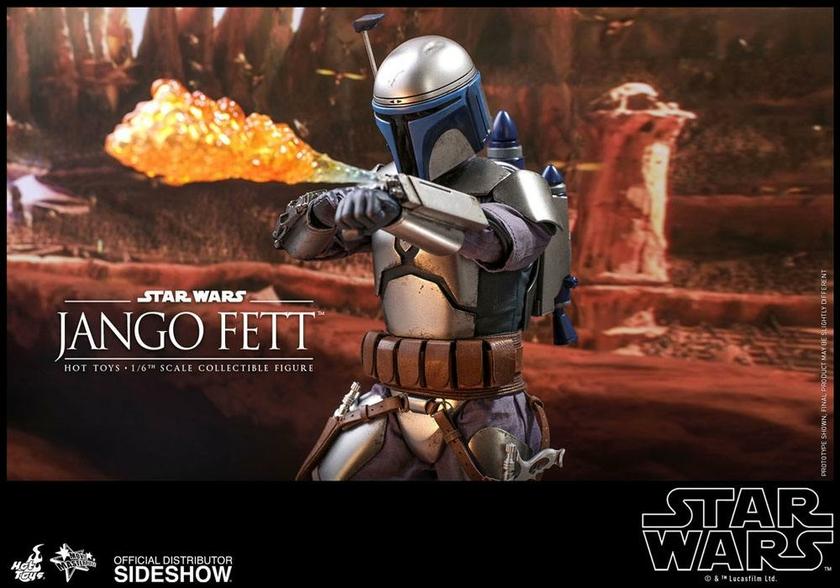 Figurine Star Wars Episode II Movie Masterpiece Jango Fett 30cm 1001 Figurines (18)