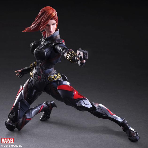 Figurine Marvel Comics Variant Play Arts Kai Black Widow 26cm 1001 Figurines 1