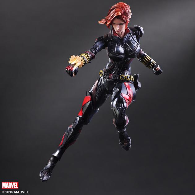 Figurine Marvel Comics Variant Play Arts Kai Black Widow 26cm 1001 Figurines 5