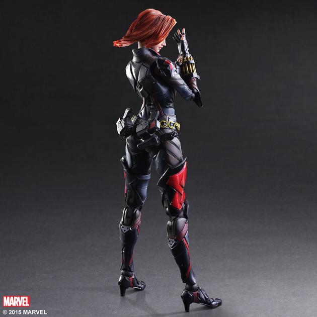 Figurine Marvel Comics Variant Play Arts Kai Black Widow 26cm 1001 Figurines 6
