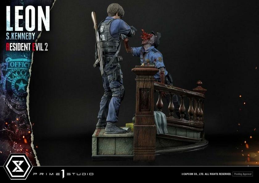Statuette Resident Evil 2 Leon S. Kennedy 58cm 1001 Figurines (4)