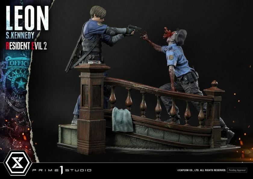 Statuette Resident Evil 2 Leon S. Kennedy 58cm 1001 Figurines (5)