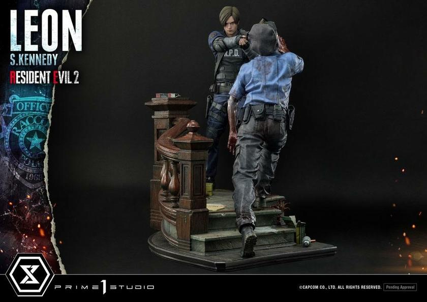 Statuette Resident Evil 2 Leon S. Kennedy 58cm 1001 Figurines (6)