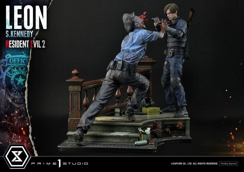 Statuette Resident Evil 2 Leon S. Kennedy 58cm 1001 Figurines (7)
