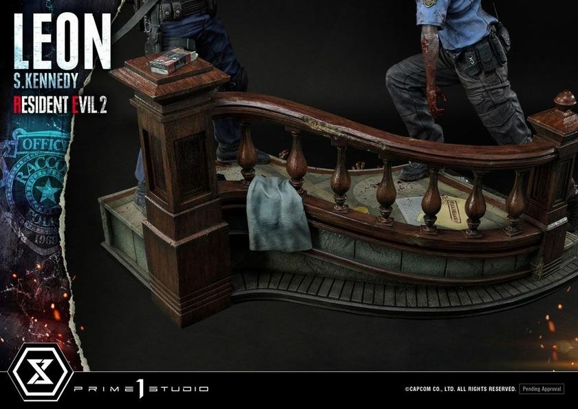 Statuette Resident Evil 2 Leon S. Kennedy 58cm 1001 Figurines (8)
