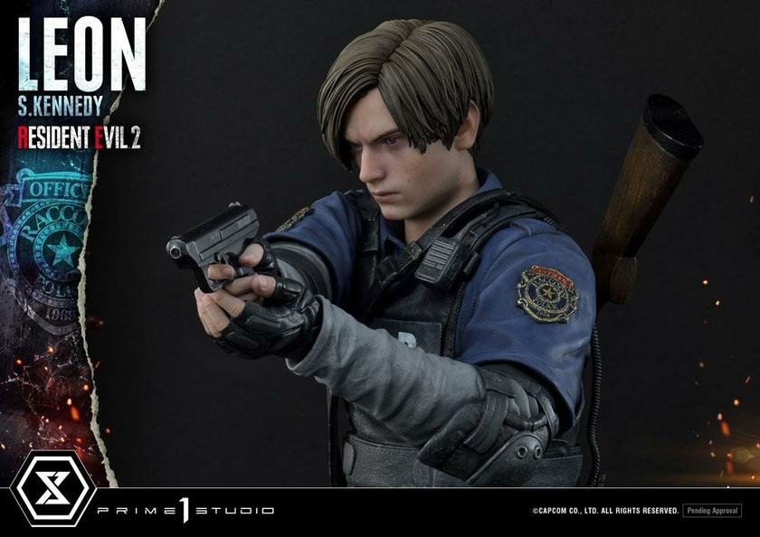 Statuette Resident Evil 2 Leon S. Kennedy 58cm 1001 Figurines (9)