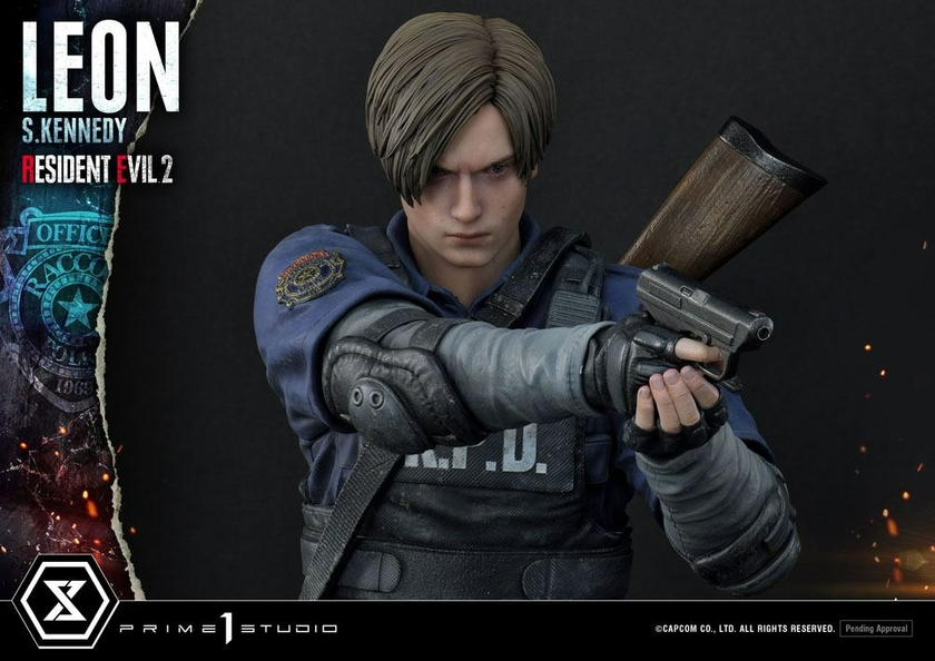 Statuette Resident Evil 2 Leon S. Kennedy 58cm 1001 Figurines (10)