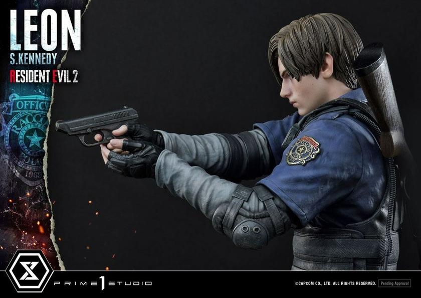 Statuette Resident Evil 2 Leon S. Kennedy 58cm 1001 Figurines (11)