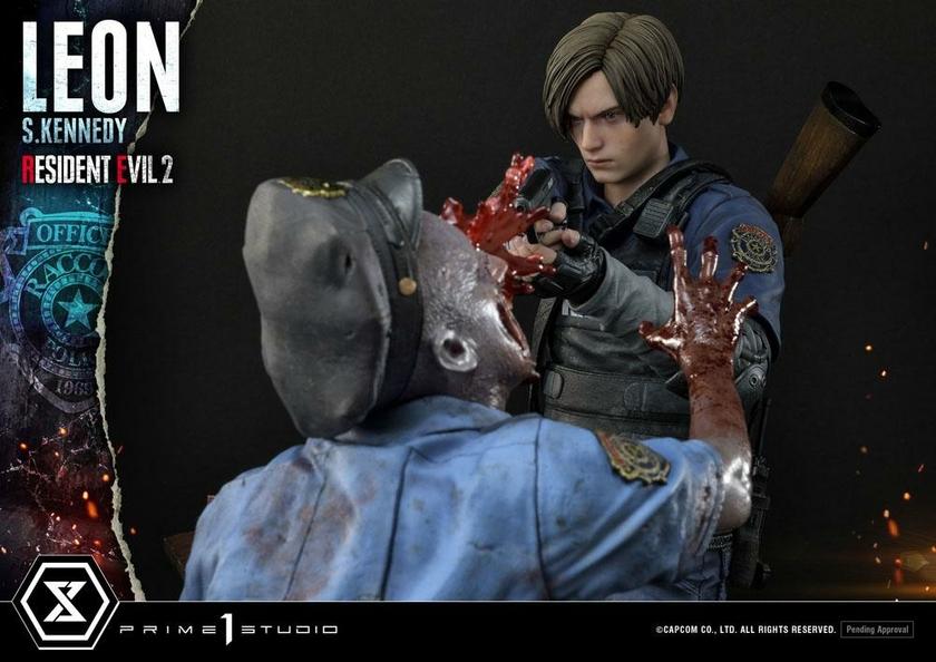 Statuette Resident Evil 2 Leon S. Kennedy 58cm 1001 Figurines (14)