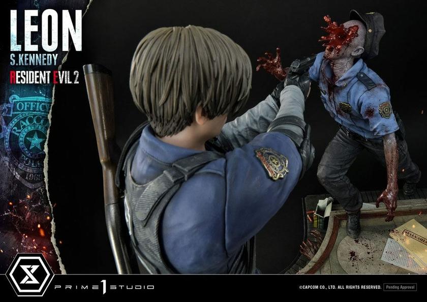 Statuette Resident Evil 2 Leon S. Kennedy 58cm 1001 Figurines (15)