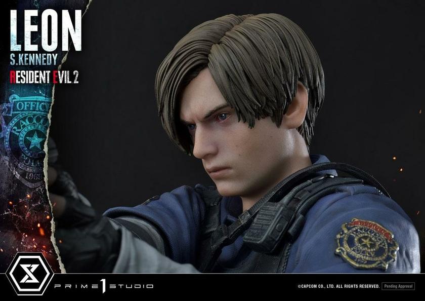 Statuette Resident Evil 2 Leon S. Kennedy 58cm 1001 Figurines (16)