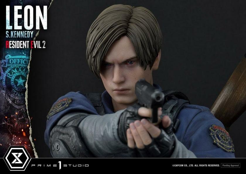 Statuette Resident Evil 2 Leon S. Kennedy 58cm 1001 Figurines (17)