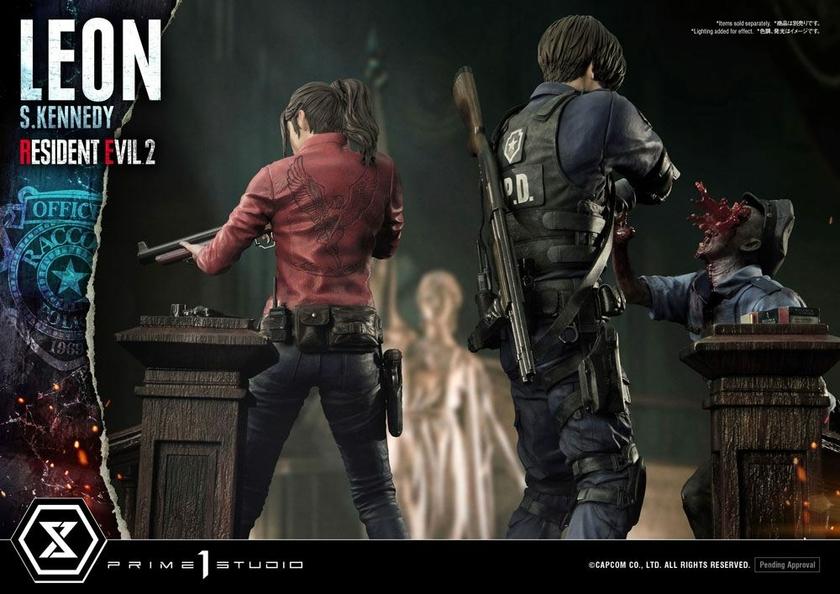 Statuette Resident Evil 2 Leon S. Kennedy 58cm 1001 Figurines (24)