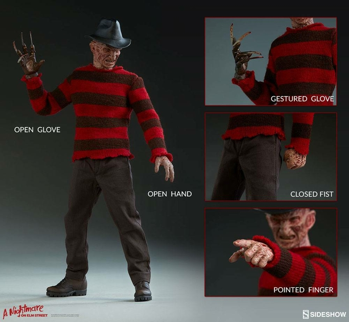 Figurine Les Griffes du cauchemar Freddy Krueger 30cm 1001 Figurines (10)