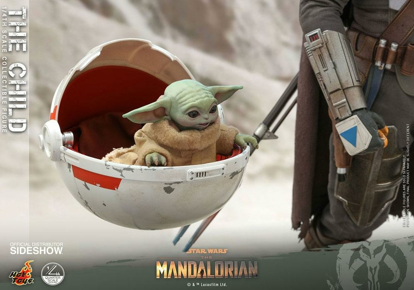 Figurine Star Wars The Mandalorian The Child 9cm 1001 Figurines (1)