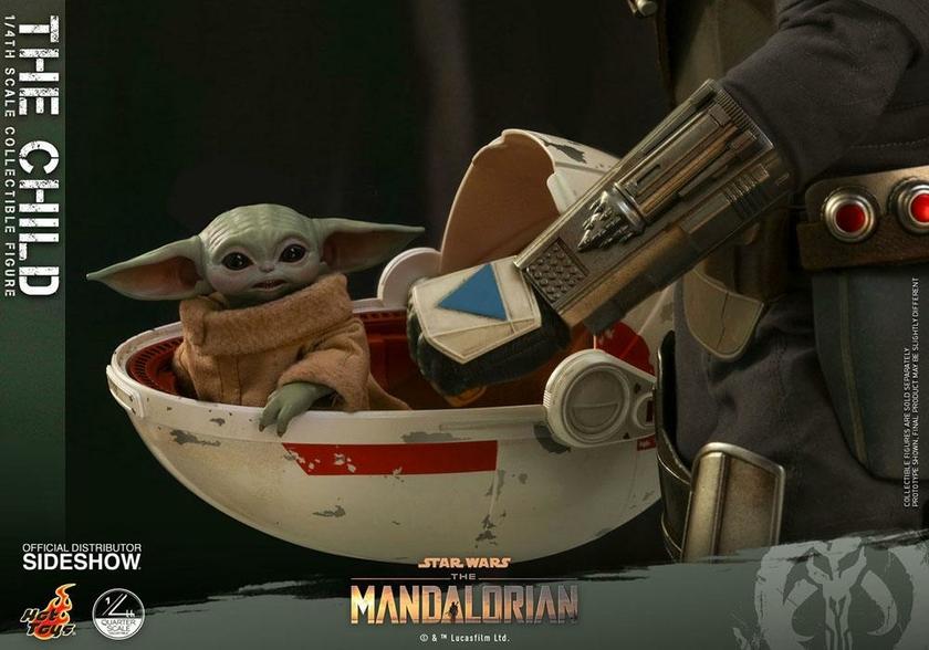 Figurine Star Wars The Mandalorian The Child 9cm 1001 Figurines (3)