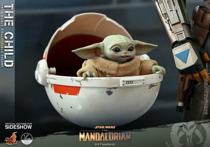 Figurine Star Wars The Mandalorian The Child 9cm 1001 Figurines (4)