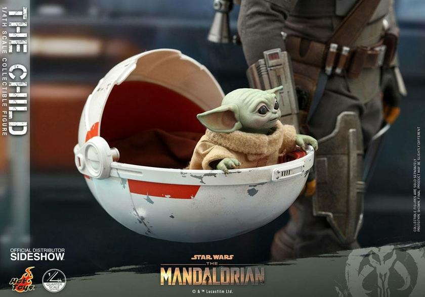 Figurine Star Wars The Mandalorian The Child 9cm 1001 Figurines (5)