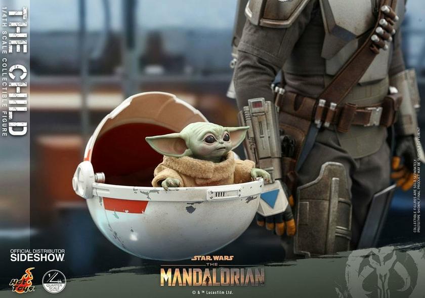 Figurine Star Wars The Mandalorian The Child 9cm 1001 Figurines (6)