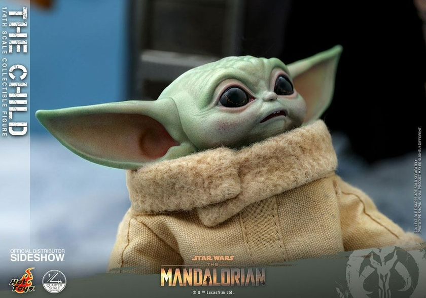 Figurine Star Wars The Mandalorian The Child 9cm 1001 Figurines (8)