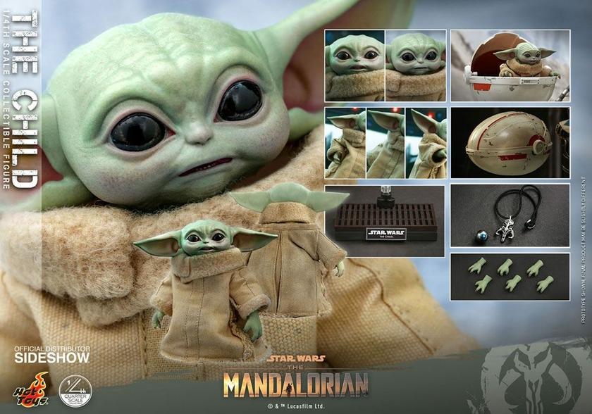 Figurine Star Wars The Mandalorian The Child 9cm 1001 Figurines (13)