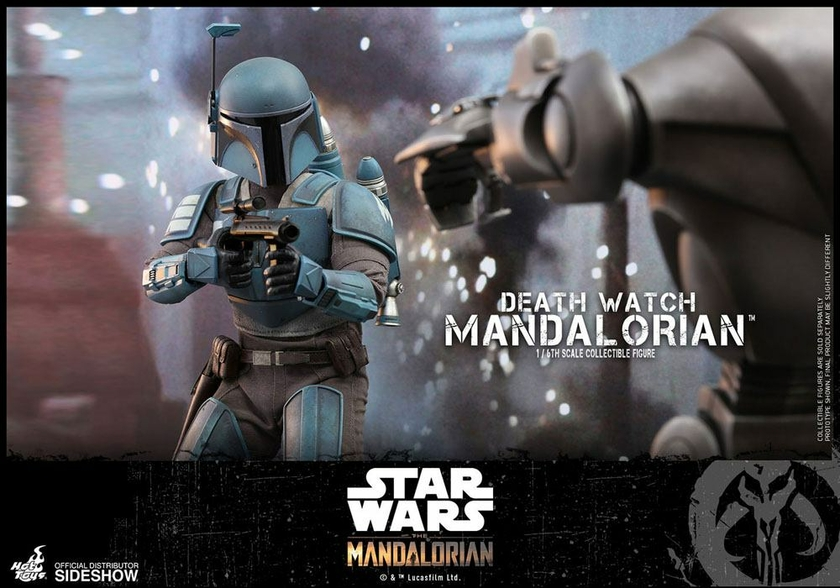 Figurine Star Wars The Mandalorian Death Watch Mandalorian 30cm 1001 Figurines (9)
