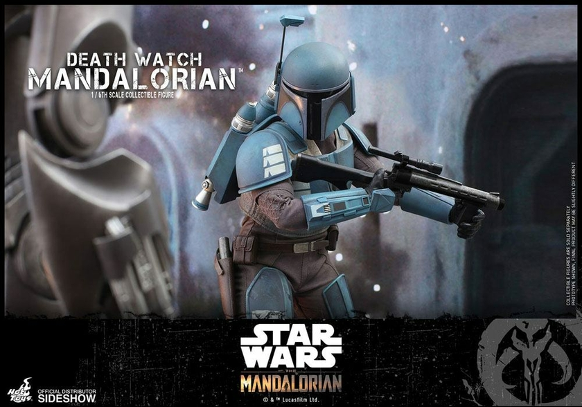 Figurine Star Wars The Mandalorian Death Watch Mandalorian 30cm 1001 Figurines (10)