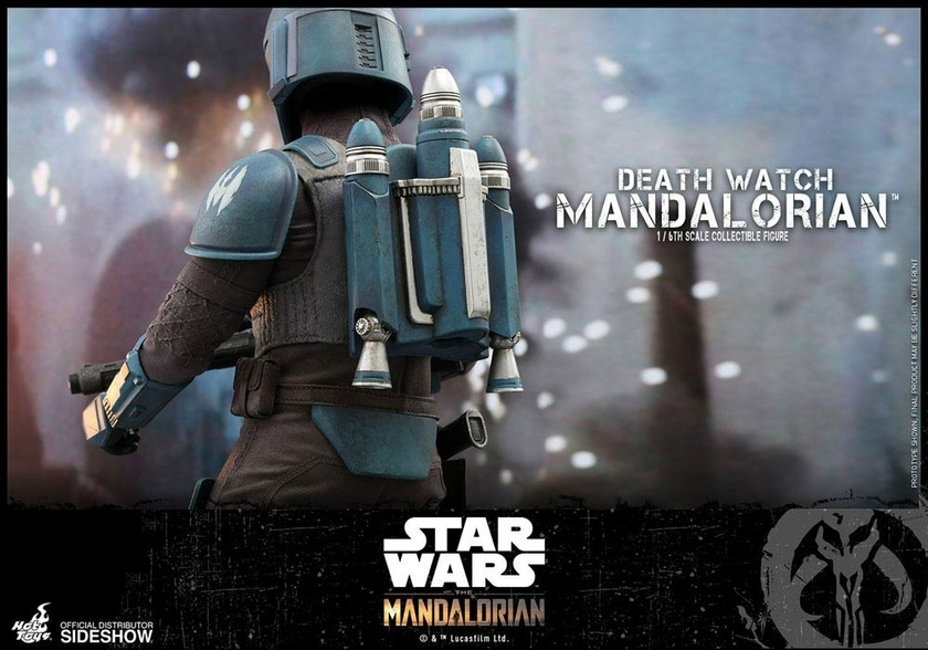 Figurine Star Wars The Mandalorian Death Watch Mandalorian 30cm 1001 Figurines (13)