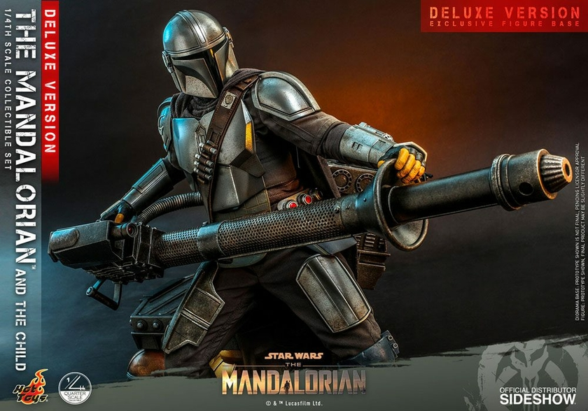Pack Figurines Star Wars The Mandalorian The Mandalorian & The Child Deluxe 46cm 1001 Figurines (16)