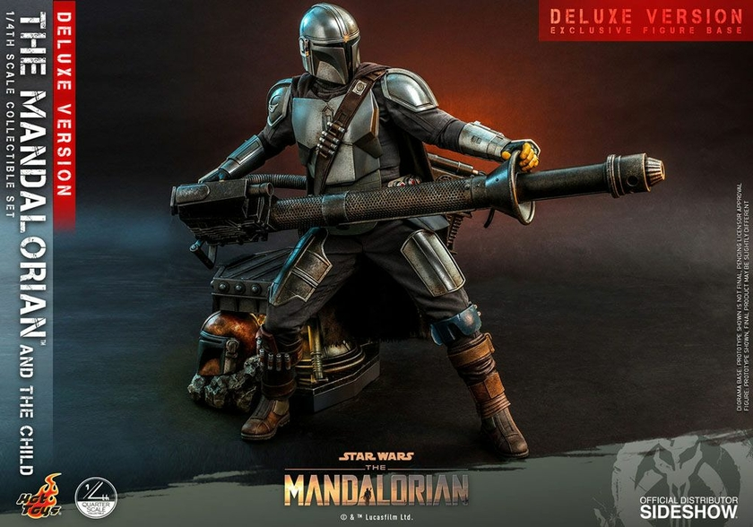 Pack Figurines Star Wars The Mandalorian The Mandalorian & The Child Deluxe 46cm 1001 Figurines (17)