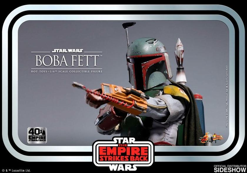 Figurine Star Wars Episode V Movie Masterpiece Boba Fett 30cm 1001 Figurines (11)