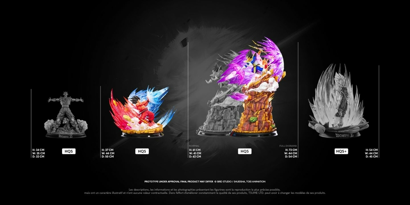 Statue Dragon Ball Z Goku Kaio-ken HQS by Tsume 1001 Figurines 20