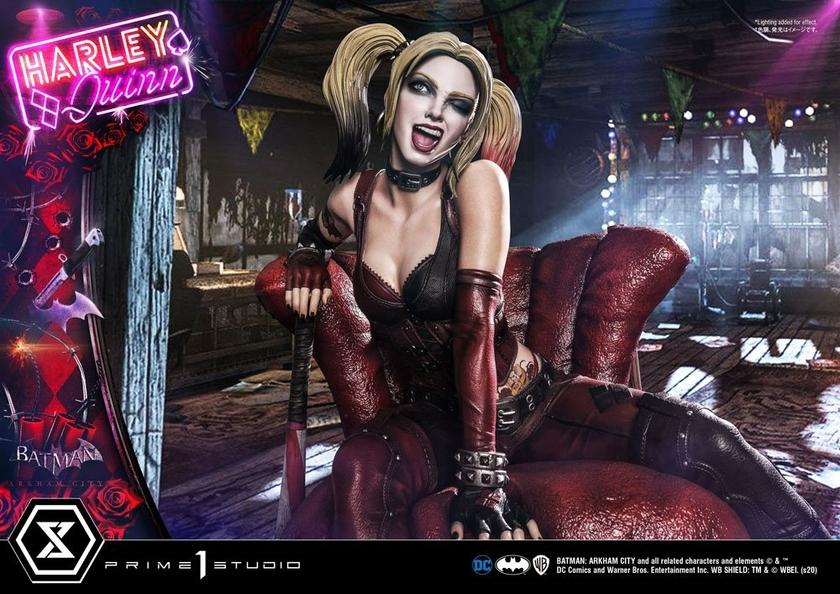 Statue Batman Arkham City Harley Quinn 58cm 1001 FIGURINES (16)