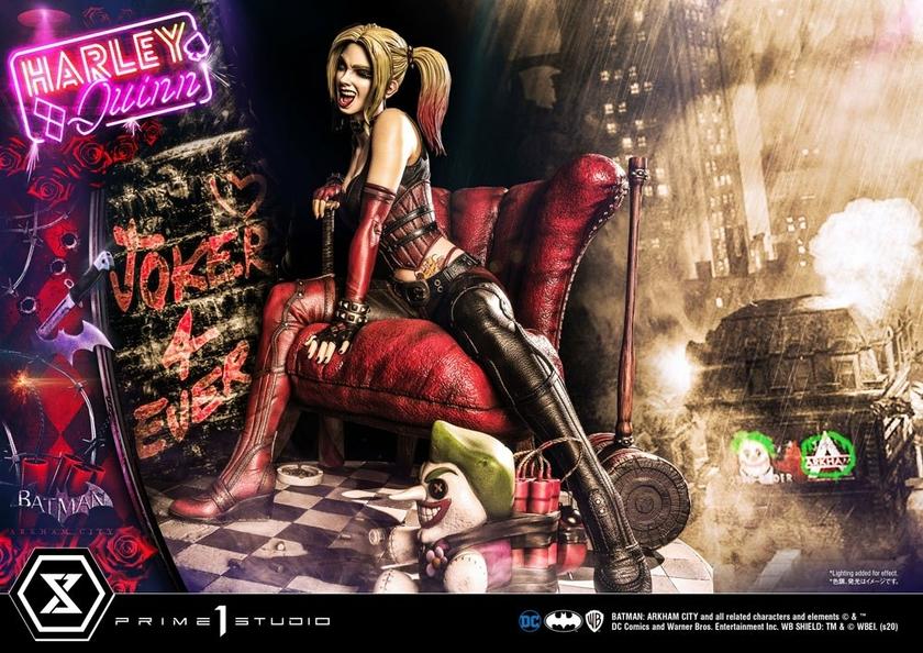 Statue Batman Arkham City Harley Quinn 58cm 1001 FIGURINES (17)