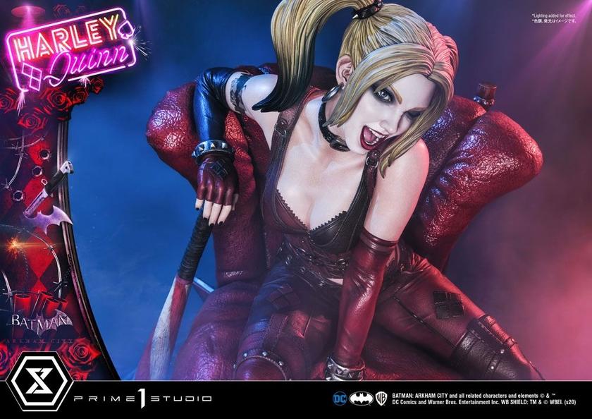 Statue Batman Arkham City Harley Quinn 58cm 1001 FIGURINES (18)