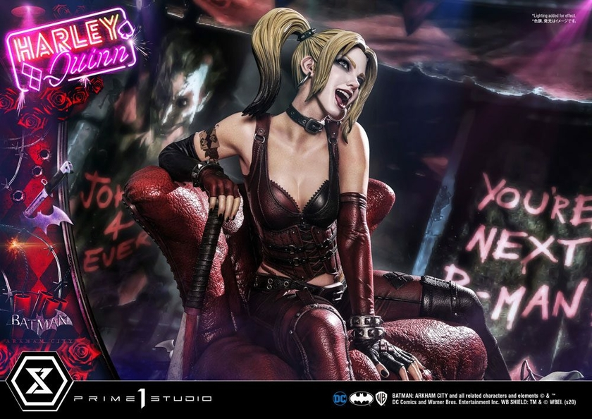 Statue Batman Arkham City Harley Quinn 58cm 1001 FIGURINES (19)