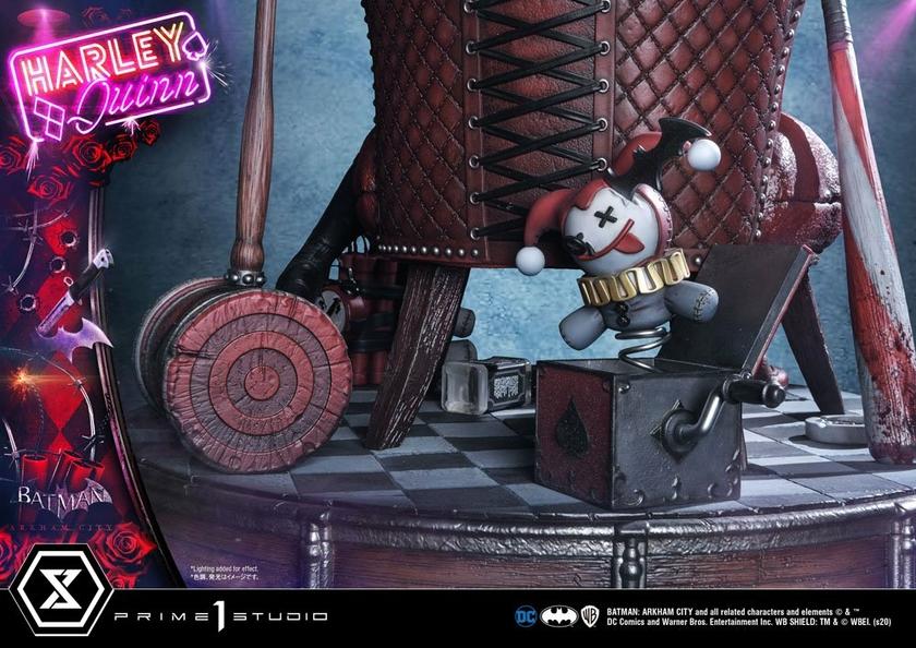 Statue Batman Arkham City Harley Quinn 58cm 1001 FIGURINES (20)
