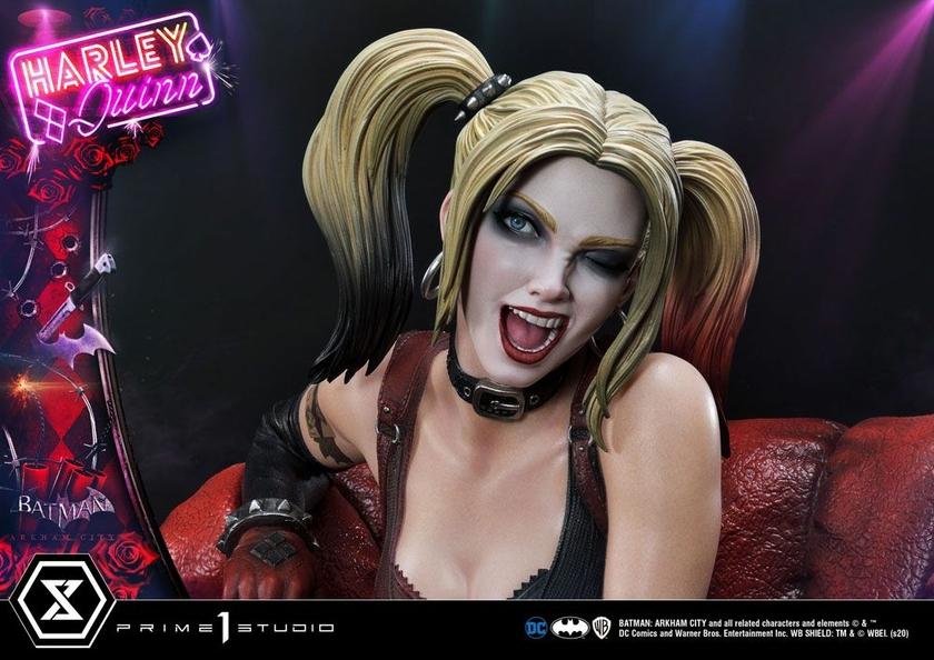 Statue Batman Arkham City Harley Quinn 58cm 1001 FIGURINES (22)